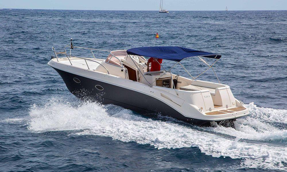 Alquiler de barcos en Ibiza Mano marine
